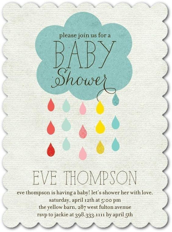 The Perfect Baby Shower Invitation
