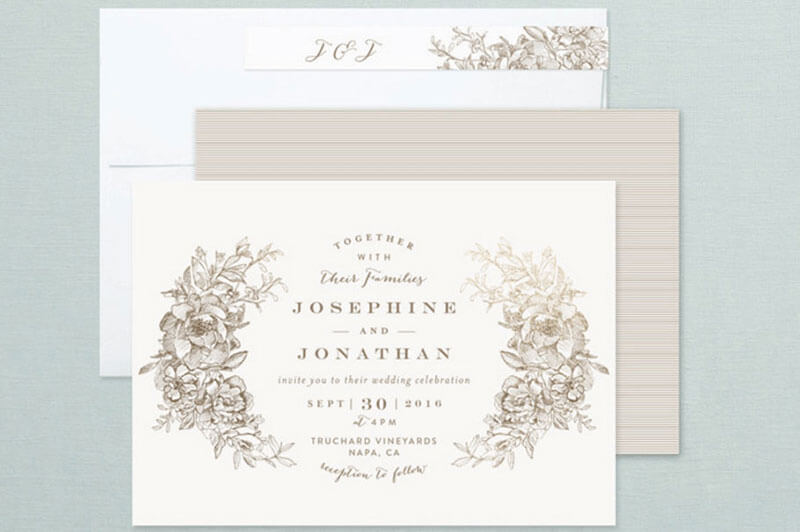 do not miss these 20 wedding invitation selections at minted